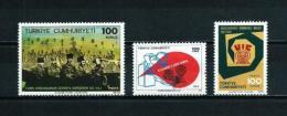 Turquía  Nº Yvert  2038-2039-2048  En Nuevo - 1921-... Republic