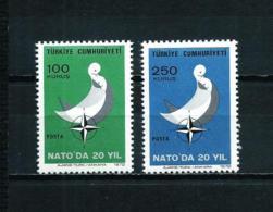 Turquía  Nº Yvert  2021/2  En Nuevo - 1921-... Republic