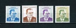 Turquía  Nº Yvert  1994/7  En Nuevo - 1921-... Republic