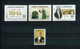 Turquía  Nº Yvert  1877/9-1880  En Nuevo - 1921-... Republic