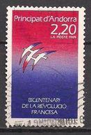 Andorra Franz.  (1989)  Mi.Nr.  397  Gest. / Used  (2ee09) - French Andorra