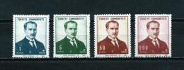Turquía  Nº Yvert  1859/62  En Nuevo - 1921-... Republic