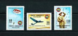 Turquía  Nº Yvert  1718/20  En Nuevo - 1921-... Republic
