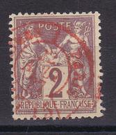 D815/ SAGE N° 85 CACHET ROUGE - 1876-1898 Sage (Type II)