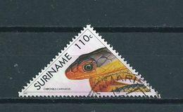 1991 Suriname 110 Cent Snake,slang Used/gebruikt/oblitere - Suriname