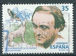 ESPAGNE SPANIEN SPAIN ESPAÑA 1998 PERSONALITIES: NATURALIST RODRÍGUEZ DE LA FUENTE ED 3546 YV 3119 MI 3385 SC 2943 - 1931-Today: 2nd Rep - ... Juan Carlos I