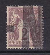 D815/ SAGE N° 85 CACHET TYPO - 1876-1898 Sage (Type II)