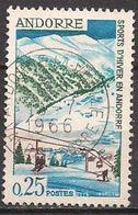 Andorra Franz.  (1966)  Mi.Nr.  195  Gest. / Used  (2ee10) - French Andorra