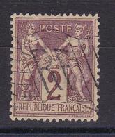 D815/ SAGE N° 85 CACHET DRAPEAU - 1876-1898 Sage (Type II)