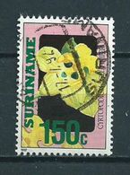 1992 Suriname 150 Cent Orchids,orchidee Used/gebruikt/oblitere - Suriname