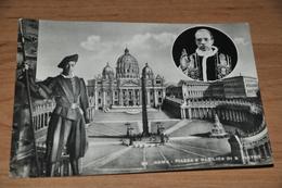 1303- Roma, Piazza E Basilica Di S. Pietro - 1949 - Eglises