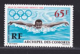 COMORES AERIENS N°   25 ** MNH Neuf Sans Charnière, TB (D4565) Jeu Olympiques De Mexico - Comoro Islands (1950-1975)