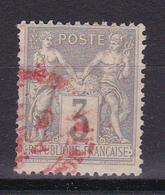 D815/ SAGE N° 87 CACHET ROUGE - 1876-1898 Sage (Type II)