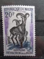 NIGER 1959 Y&T N° 102 ** - MOUFLONS - Niger (1960-...)