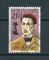 1992 Suriname 250 Cent J.Matzeliger Used/gebruikt/oblitere - Suriname