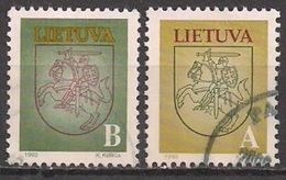 Litauen  (1993)  Mi.Nr.  531 + 532  Gest. / Used  (2ee04) - Lithuania
