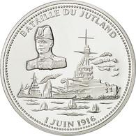 France, Medal, Bataille Du Jutland, FDC, Cuivre Plaqué Argent - France