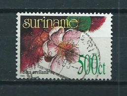 1993 Suriname 500 Cent Orchid,orchidee Used/gebruikt/oblitere - Suriname