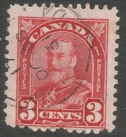 Canada. 1930-31 KGV. 3c Used SG293 - 1911-1935 Reign Of George V