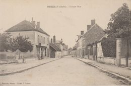 Marcilly (aube) Grande Rue - Marcilly