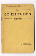 Gendarmerie Gemmenich (Cachet Gemenich) La Constitution Belge - Polizei