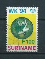 1994 Suriname 100 Gulden Football,voetbal Used/gebruikt/oblitere - Suriname
