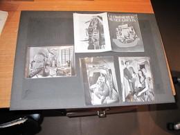 LA CROISIERE DU MUSEE GREVIN - Brochure + 3 Cpa - Années 50 - Programmi