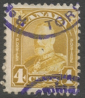 Canada. 1930-31 KGV. 4c Used SG294 - 1911-1935 Reign Of George V