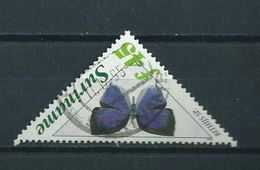 1994 Suriname 45 Gulden Vlinder,butterfly,papillon Used/gebruikt/oblitere - Suriname