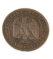 2 Centimes- Napoléon III - France - 1862 K Bordeaux - Bronze - TTB - - France