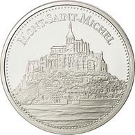 France, Medal, Mont Saint-Michel, FDC, Argent - France