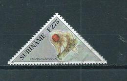 1997 Suriname 275 Gulden Aap,monkey,affen Used/gebruikt/oblitere - Suriname