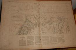 Plan Du Percement De L'isthme De Suez. 1858 - Public Works