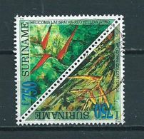 1999 Suriname 750 Gulden Plants Used/gebruikt/oblitere - Suriname