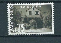 1999 Suriname 75 Gulden Plantage Katwijk Used/gebruikt/oblitere - Suriname