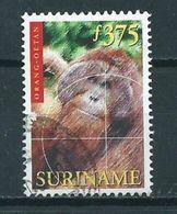 1999 Suriname 375 Gulden Aap,monkey,affen Used/gebruikt/oblitere - Suriname