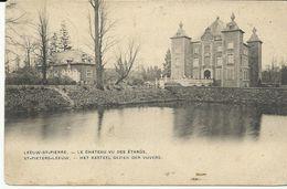 Sint Pieters Leeuw Het Kasteel Gezien Der Vijvers (6975) - Sint-Pieters-Leeuw
