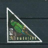 2002 Suriname 800 Gulden Parrot,birds,oiseaux,vögel Used/gebruikt/oblitere - Suriname