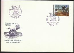 Portugal Azores 1982 / Europa CEPT / Rowing Boat / FDC - 1982