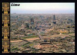 1 AK Peru * Blick Auf Die Hauptstadt Lima - Luftbildaufnahme * - Peru