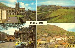 Angleterre - Malvern - Multivues - Colour International Nº W024 - Ecrite, Timbrée - 4115 - Worcestershire