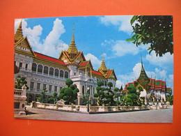 The Royal Grand Palace,Chakri And Dusit Maha Prasadh Throne Halls,Bangkok - Thailand