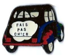 GROUPE PSA - CITROEN - C6 - 2 CV - FAIS PAS CHIER - Verso : SM - Peugeot