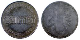 03867 GETTONE JETON TOKEN DISTRIBUTORI AUTOMATICI DISPENSER MACHINE CAMST - Unclassified