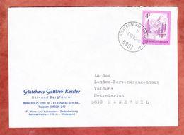 Brief, EF Almsee, Riezlern Kleinwalsertal Nach Rankweil 1980 (45520) - 1945-.... 2ème République