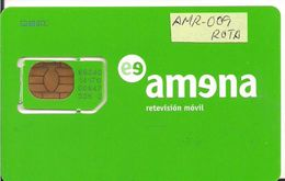TARJETA GSM AMENA - Tarjetas Telefónicas