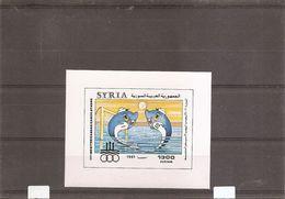 Syrie  ( BF 42 XXX -MNH) - Syrie