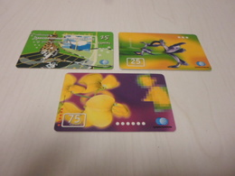 KAZAHSTAN - 3 Nice Chipphonecards - Kazakhstan