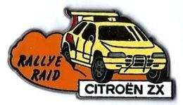 GROUPE PSA - CITROEN - C11 - RALLYE RAID ZX - Verso : SM - Peugeot