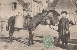 Mont Dore- Un Jeune Laitier Et Sa Monture - Le Mont Dore